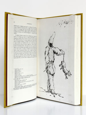 La Commedia dell'arte vue à travers le zibaldone de Pérouse, Suzanne Thérault. Éditions du centre national de la recherche scientifique, 1975. Pages intérieures.