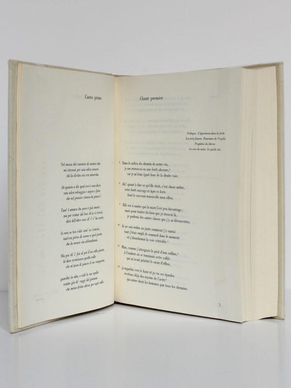 La Divine Comédie, Dante. Les Libraires Associés, 1965. Pages intérieures 1.
