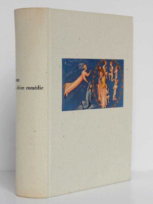La Divine Comédie, Dante. Les Libraires Associés, 1965. Couverture : premier plat et dos.
