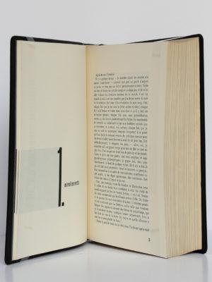 Moby Dick ou le cachalot blanc, Herman Melville. Le club français du livre, 1955. Pages intérieures 1.
