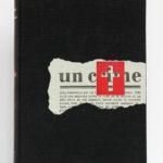 Un crime, Georges Bernanos. Le Club français du livre, 1954. Couverture.