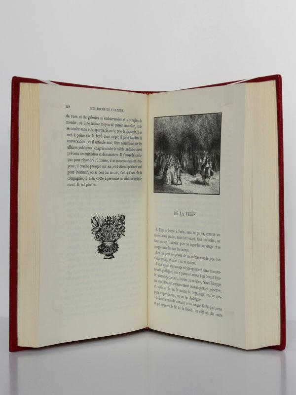 Les Caractères, La Bruyère. Chez Jean de Bonnot, 1972. Pages intérieures 3.