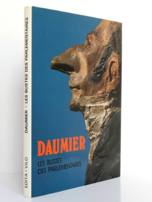 Les bustes des parlementaires par Honoré Daumier. Edita-Vilo, 1980. Couverture : dos et premier plat.