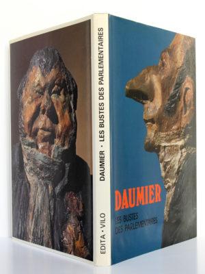Les bustes des parlementaires par Honoré Daumier. Edita-Vilo, 1980. Couverture : dos et plats.