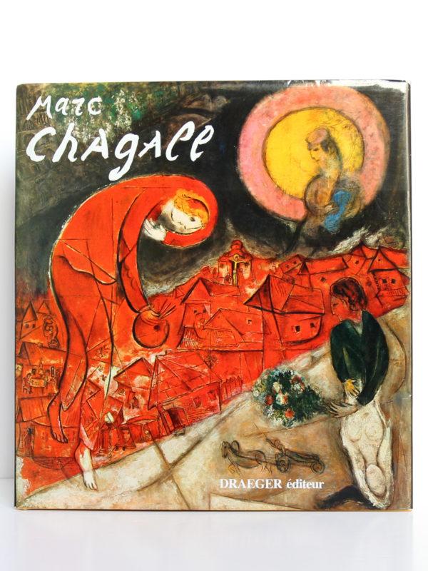 Marc Chagall de Draeger. Draeger-Vilo, 1979. Couverture.