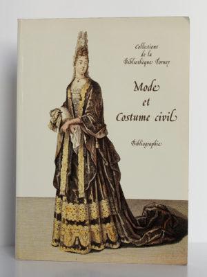Mode et costume civil: bibliographie, Gérard Letexier. Bibliothèque Forney, 1992. Couverture.