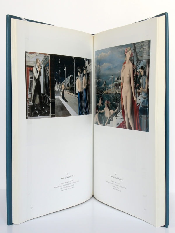 Paul Delvaux 1897-1994. Blondé Artprinting International-Wommelgem, 1997. Pages intérieures 1.