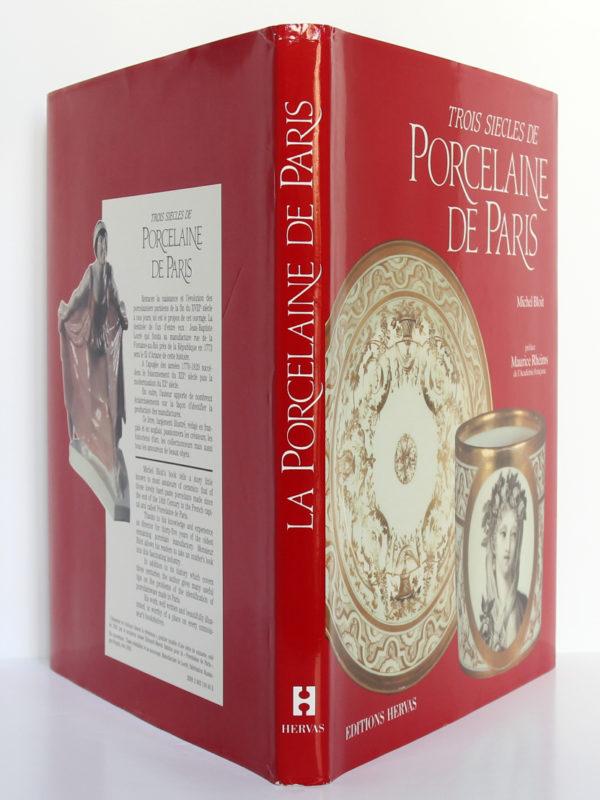 Trois siècles de porcelaine de Paris, Michel Bloit. Éditions Hervas, 1988. Couverture : dos et plats.