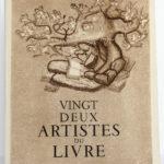 Vingt-deux artistes du livre, Pierre Mornand. Le Courrier graphique, 1948. Couverture.