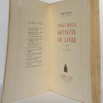 Vingt-deux artistes du livre, Pierre Mornand. Le Courrier graphique, 1948. Page titre.