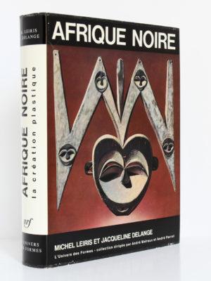 Afrique noire La création plastique. Jacqueline Delange, Michel Leiris. Collection «L'Univers des formes», Gallimard-nrf, 1967. Couverture : dos et premier plat.