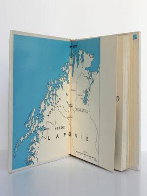Derniers nomades du Grand Nord, Jacques Arthaud. Arthaud, 1956. Gardes.
