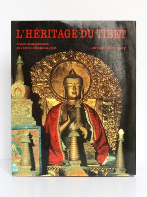 L'héritage du Tibet, Detlef Ingo Lauf. Elsevier Séquoia, 1973. Couverture.