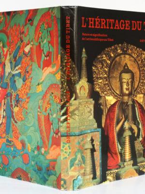 L'héritage du Tibet, Detlef Ingo Lauf. Elsevier Séquoia, 1973. Couverture : dos et plats.