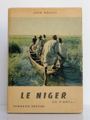 Le Niger en pirogue, Jean Rouch. Fernand Nathan, 1954. Couverture.